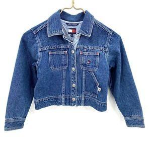 Tommy Hilfiger Denim Snap Front Jean Jacket 6X